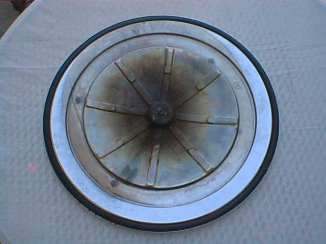 1969 Q-code Air Cleaner Lid, Bottom