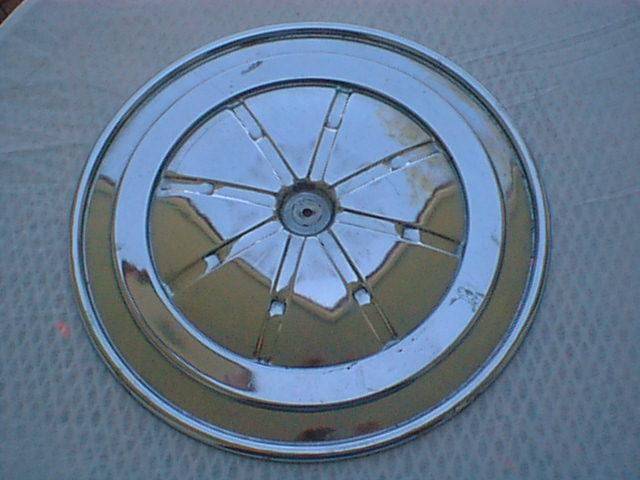 1969 Q-code Air Cleaner Lid, Top