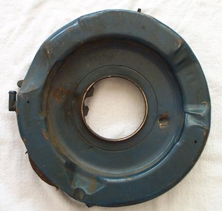 1970 R-code Air Cleaner Base, Bottom