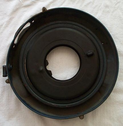 1970 R-code Air Cleaner Base, Top
