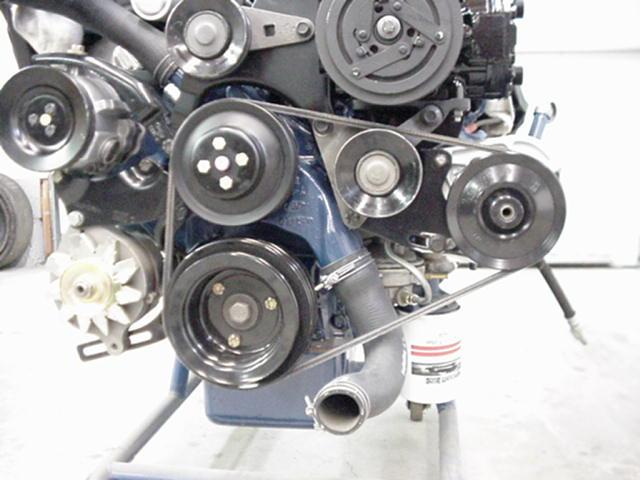 Belts Ac Ps on Ford 427 Cobra Crate Engines
