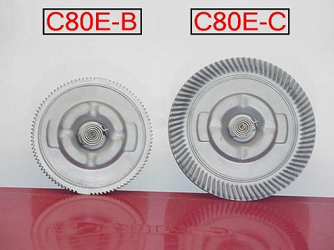 C8OE-B and C8OE-C Fan Clutches, Front