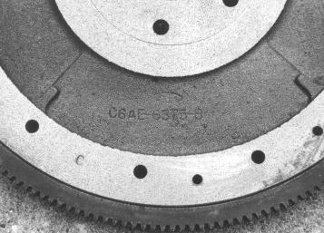 C6AE-B flywheel detail