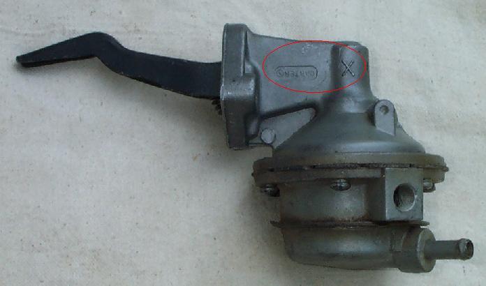 Fuel pump mustang 428 cobra jet registry fuel pump ccuart Gallery