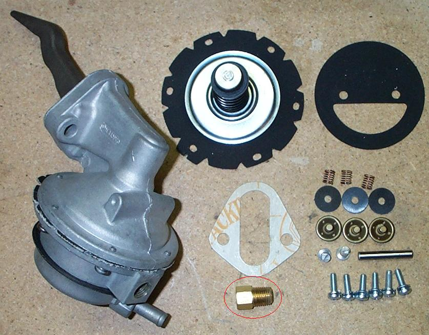 Carter x fuel pump rebuild mustang 428 cobra jet registry pump and kit ccuart Gallery