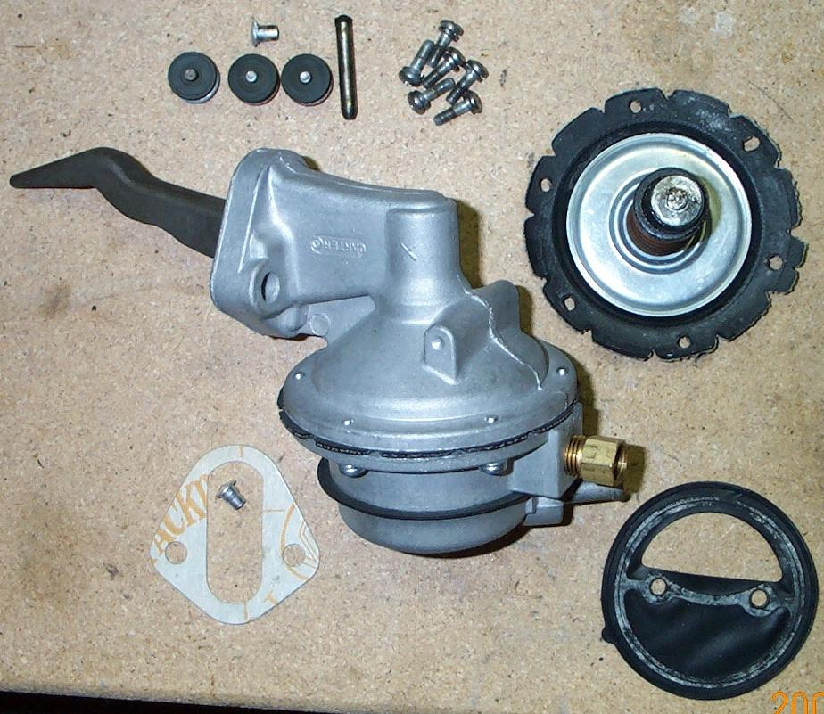 Carter x fuel pump rebuild mustang 428 cobra jet registry step 13 rejoin the two halves of the pump using the six remaining screws and lock washers included in the kit when finished youll have a pump thats ccuart Gallery