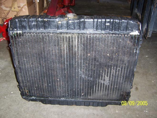 Front View, 1970 Radiator