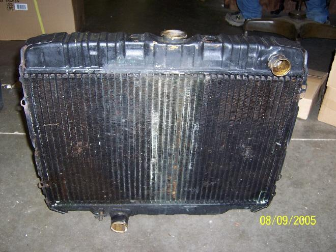 Rear View, 1970 Radiator