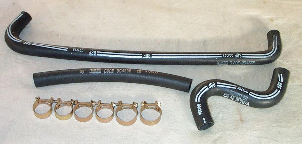 Smog hoses and clamps