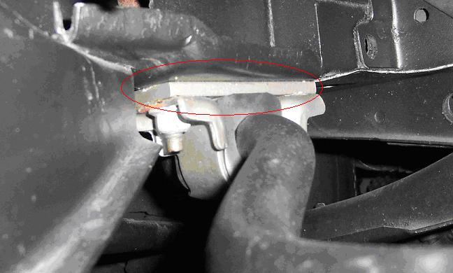 Front Sway Bar Spacer 1968 Mustang 428 Cobra Jet Registry