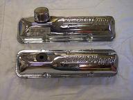 Chrome Valve Cover, Top