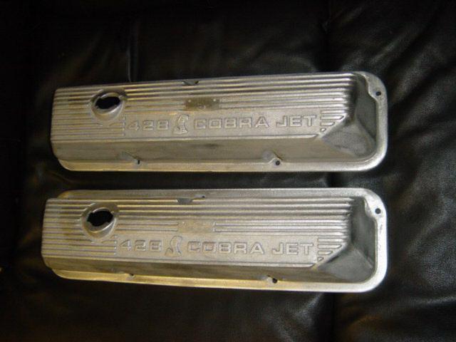 Cobra Jet Mustang >> Valve Covers   Mustang 428 Cobra Jet Registry